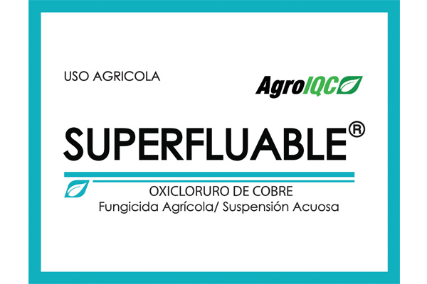 IQC - Agro - Fungicidas Cúpricos - SUPERFLUABLE